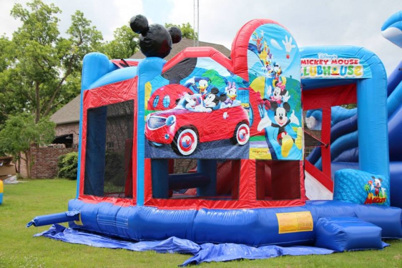 Mickey Clubhouse Jumper Welcome To Monroe Jumpers